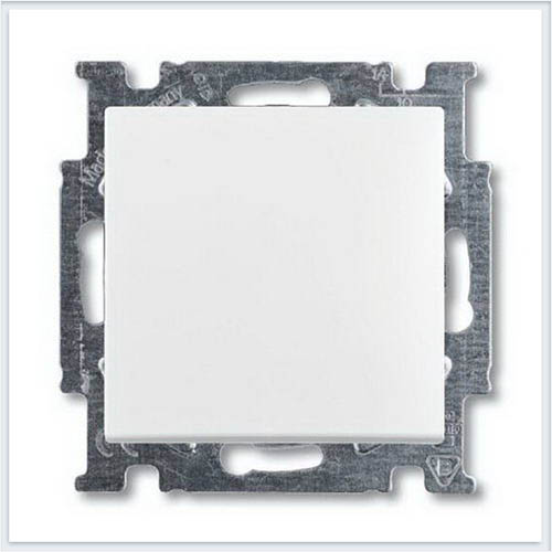 Выключатель 1-клавишный белый ABB Basic 55 1012-0-2139