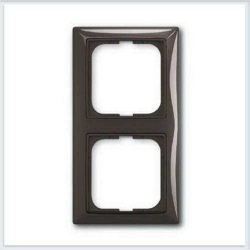 Розетки и выключатели ABB - Розетки и выключатели Basic 55 - ABB Basic 55 Шато черный - 1725-0-1507