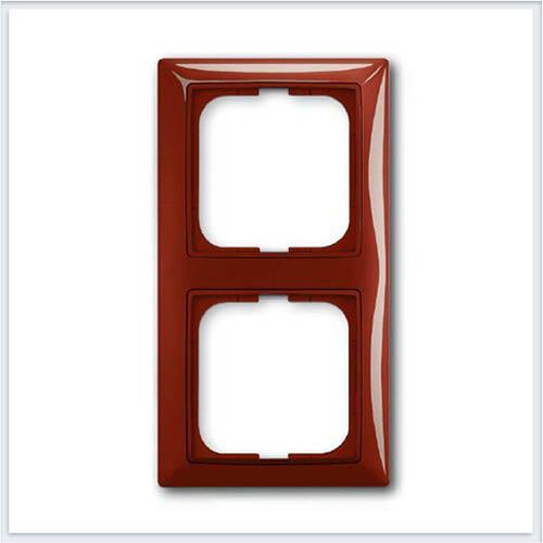 Фойе — красный Рамка 2-ая ABB Basic 55 1725-0-1517