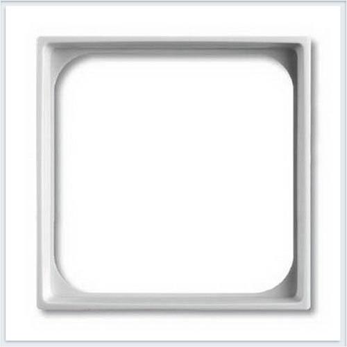 Переходник для приборов 50х50 мм белый ABB Basic 55 1726-0-0219