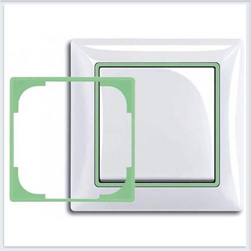 Салатовый Вставка декоративная в рамку ABB Basic 55 1726-0-0224