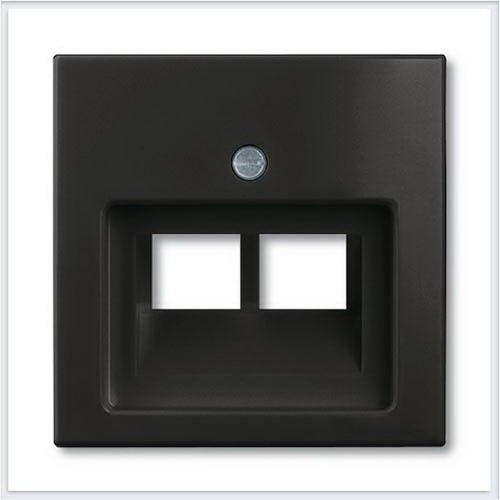 Розетки и выключатели ABB - Розетки и выключатели Basic 55 - ABB Basic 55 Шато черный - 1753-0-0206