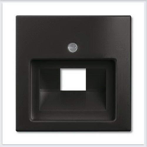 Розетки и выключатели ABB - Розетки и выключатели Basic 55 - ABB Basic 55 Шато черный - 1753-0-0207