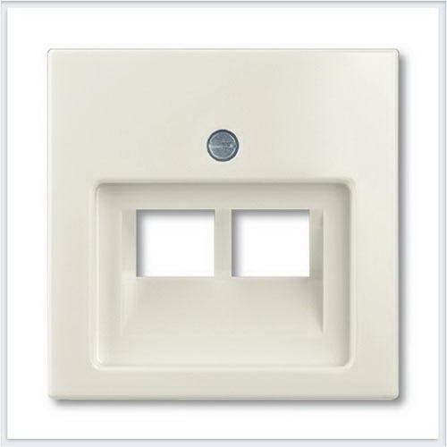 Розетки и выключатели ABB - Розетки и выключатели Basic 55 - ABB Basic 55 Шале белый - 1753-0-0209