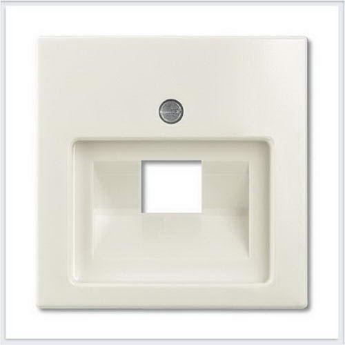 Розетки и выключатели ABB - Розетки и выключатели Basic 55 - ABB Basic 55 Шале белый - 1753-0-0210