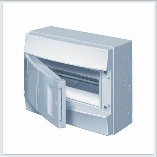 ABB Mistral65 бокс настенный 12М непрозрачная дверь - 65P12X11