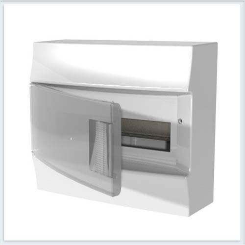 ABB Mistral41 Бокс настенный 8М прозрачная дверь - 41P08X12B