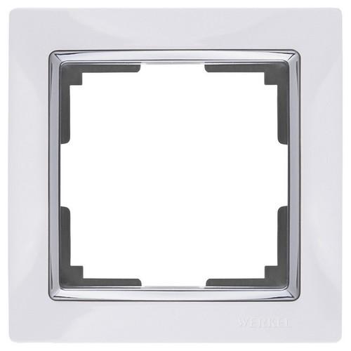 Werkel WL03-Frame-01-white Рамка на 1 пост белый