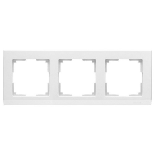 Werkel WL04-Frame-03-white Рамка на 3 поста белый