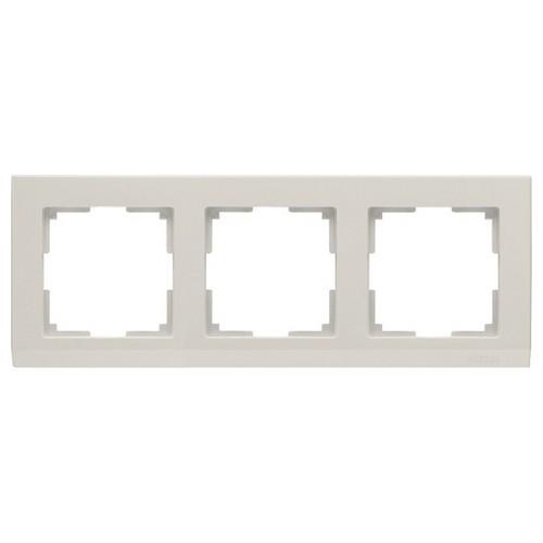 Werkel WL04-Frame-03-ivory Рамка на 3 поста слоновая кость