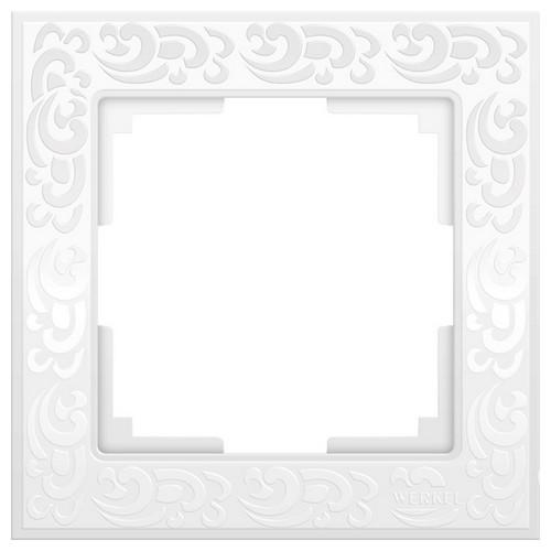 Werkel WL05-Frame-01-white Рамка на 1 пост белый