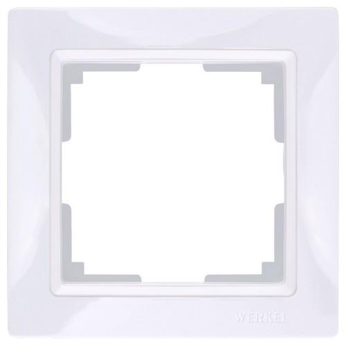 Werkel WL03-Frame-01 Рамка на 1 пост белый, basic