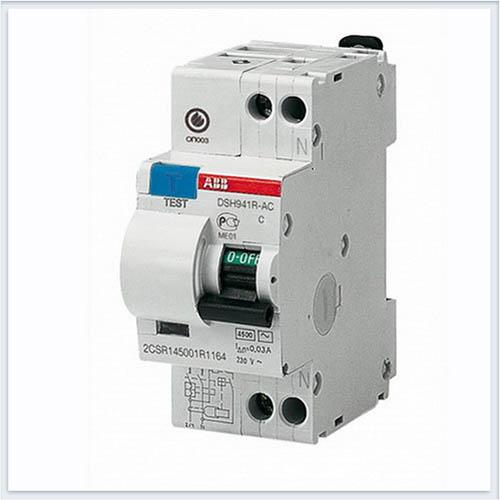 Дифференциальный автоматический выключатель 1P+N 10A 30ma ABB DSH941R - DSH941RAC-C10/0,03