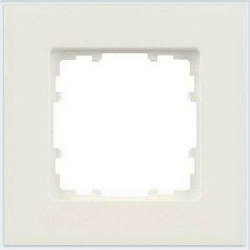 Siemens Delta miro color Рамка 1 пост титановобелый - 5TG11110
