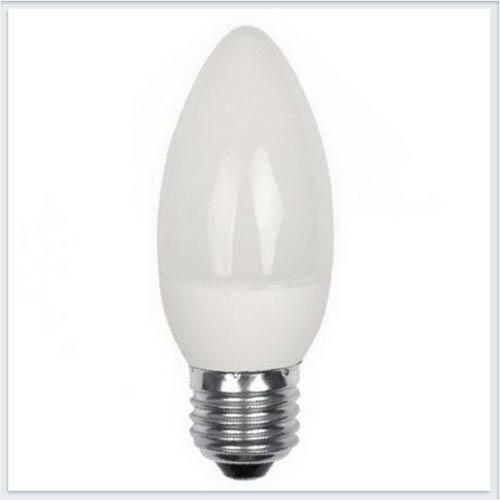 Лампа светодиодная Foton Свеча FL-LED C37 5.5W E27 6400К 220V 510Лм 37*108мм - купить лампу