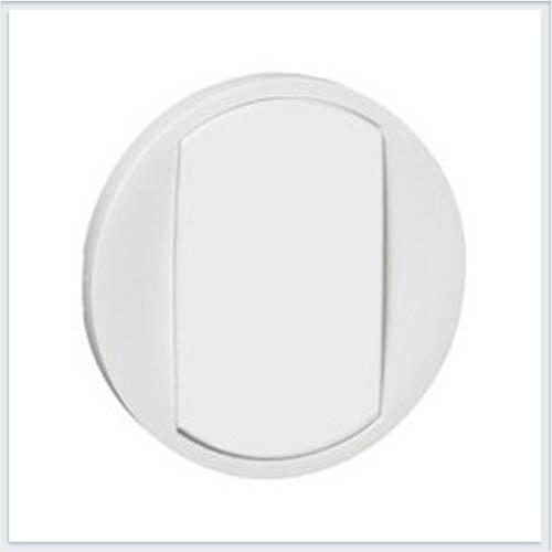 Клавиша 1-ая для кнопочного выключателя с контурной подсветкой белая Legrand Celiane 65004