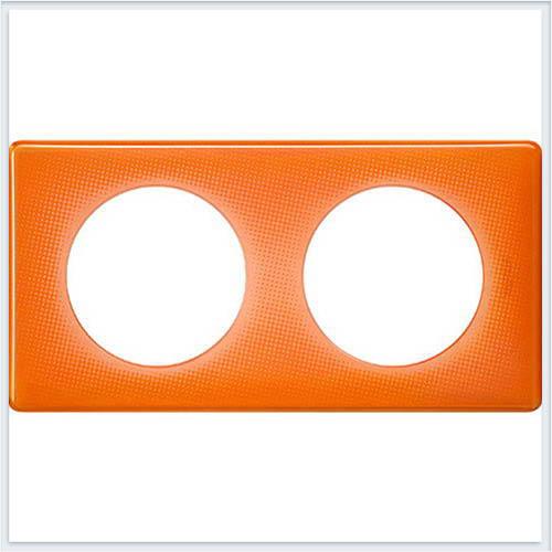 Рамка 2-ая Муар оранжевый Legrand Celiane 66652