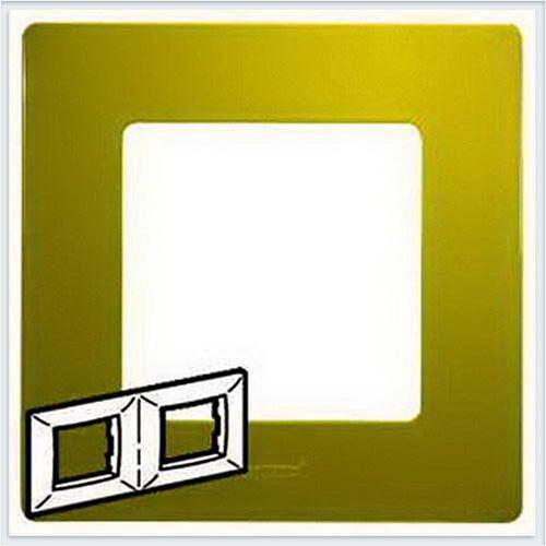Рамка 2-ая зеленый папоротник Legrand Etika 672542