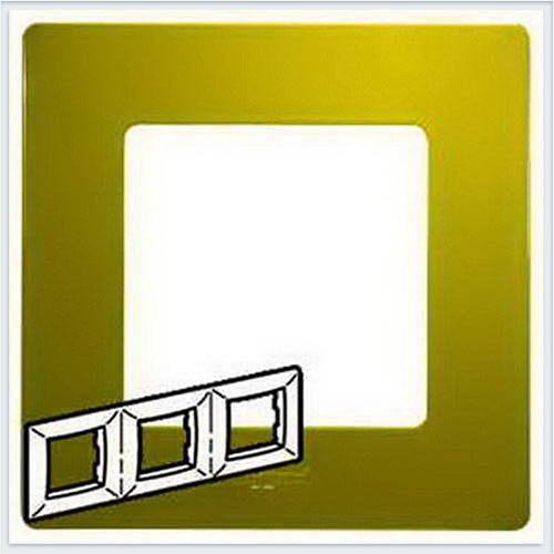 Рамка 3-ая зеленый папоротник Legrand Etika 672543