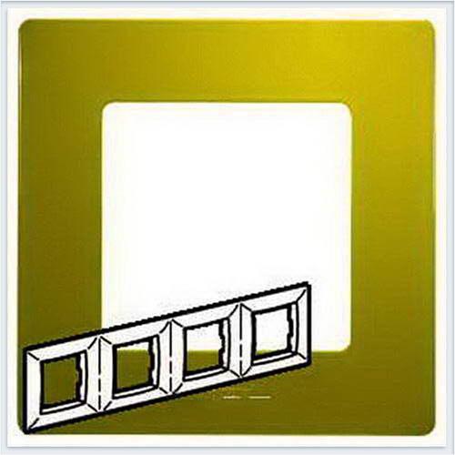 Рамка 4-ая зеленый папоротник Legrand Etika 672544