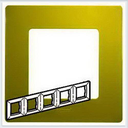 Рамка 5-ая зеленый папоротник Legrand Etika 672545