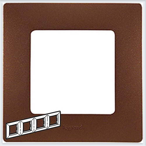 Рамка 4-ая какао Legrand Etika 672574