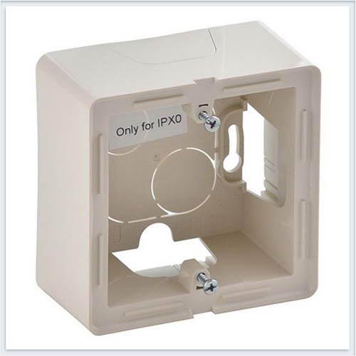 Коробка для накладного монтажа 1-постовая Слоновая кость Valena Life 754201