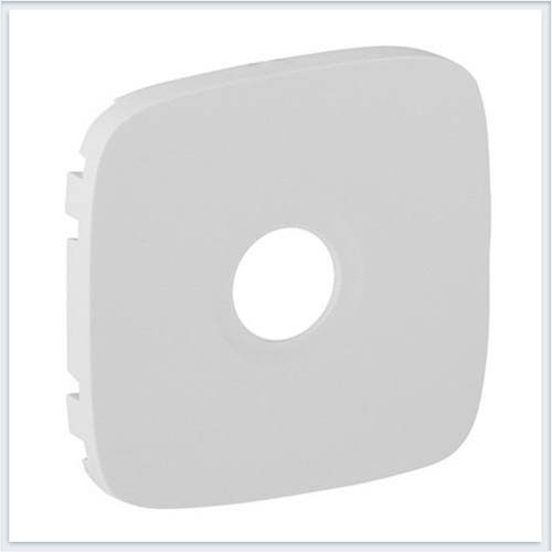 Накладка для розеток ТВ Белая Valena Allure 754765