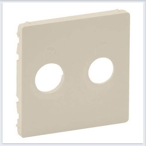 Накладка для розеток TV-SAT Слоновая кость Valena Life 754821