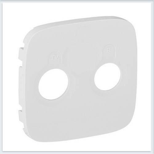Накладка для розеток TV-SAT Слоновая кость Valena Allure 754826