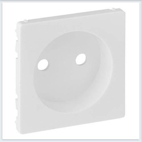 Накладка силовой розетки 2К Белая Valena Life 754970