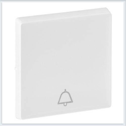 Клавиша для кнопочного выключателя с символом звонок Белая Valena Life 755010