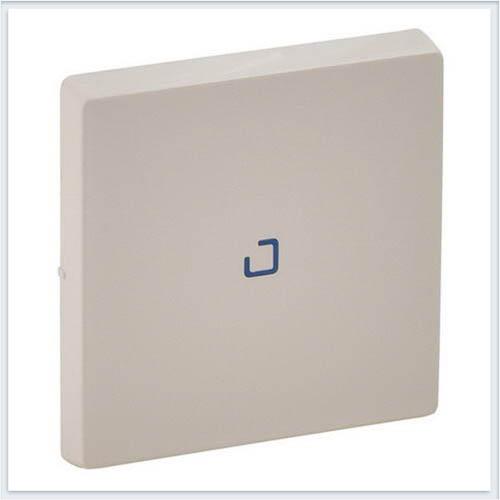 Клавиша для выключателя одноклавишного с подсветкой/индикацией Слоновая кость Valena Life 755101