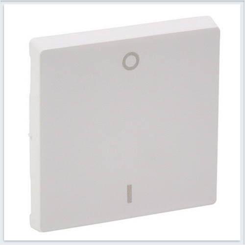 Клавиша для выключателя двухполюсного Белая Valena Life 755120
