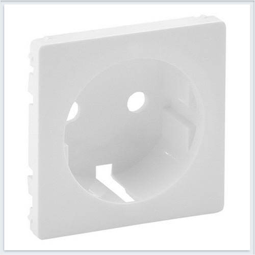 Накладка розетки 2К+З Белая Valena Life 755200