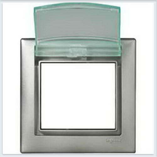 Рамка 1-ая IP44 Алюминий Legrand Valena 770150