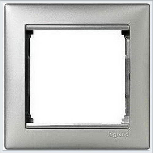 Рамка 1-ая Алюминий Legrand Valena 770151