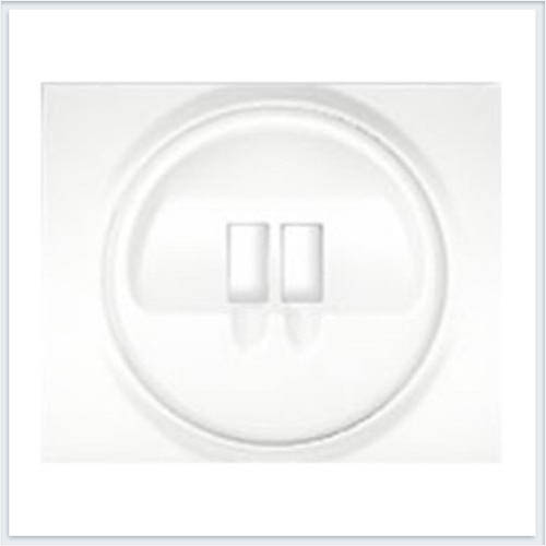 Накладка аудиорозетки 1-ой Legrand Galea Life Белый 771000