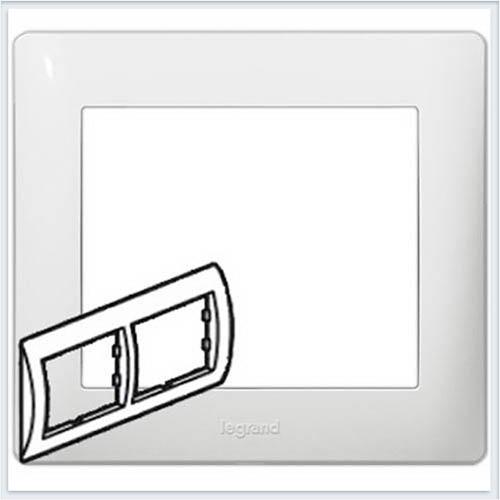 Рамка 2-я горизонтальная  Legrand Galea Life Белый 771002
