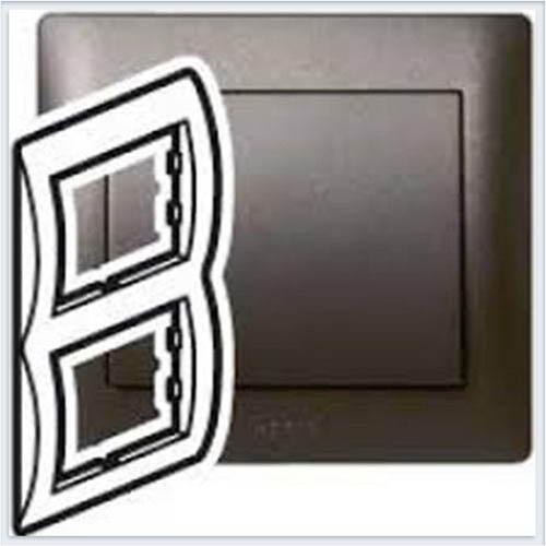 Рамка 2-я вертикальная Legrand Galea Life Темная Бронза 771206