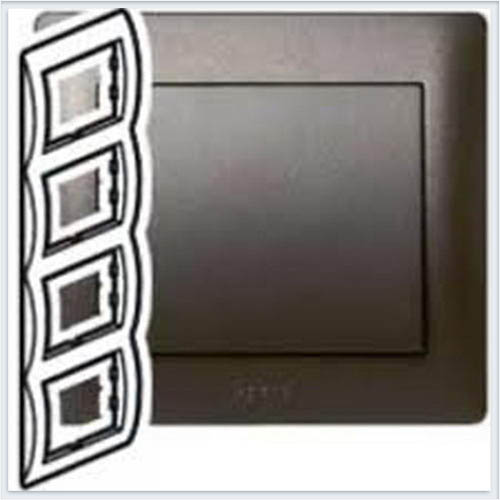Рамка 4-я вертикальная Legrand Galea Life Темная Бронза 771208