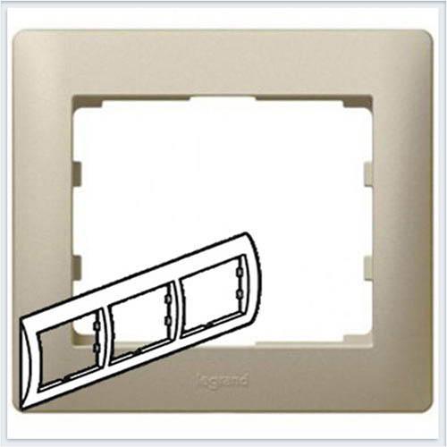 Рамка 3-я горизонтальная Legrand Galea Life Титан 771403