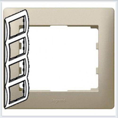 Рамка 4-я вертикальная Legrand Galea Life Титан 771408
