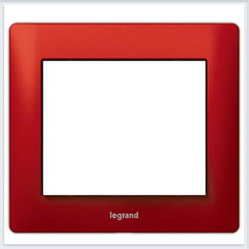 Красный Металл/Magic Red Рамка 1-я Legrand Galea Life  771901