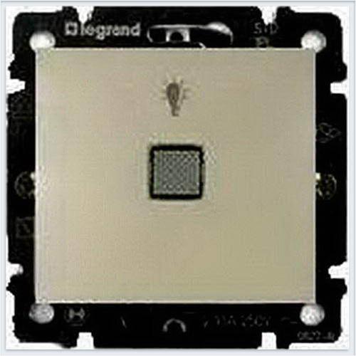 Кнопка с пиктограммой лампы Слоновая кость Legrand Valena 774312