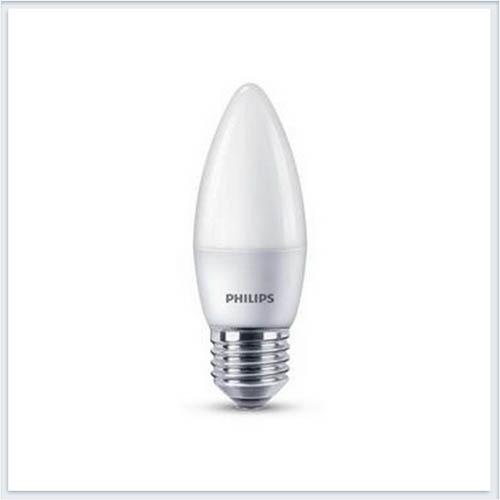 Лампа светодиодная Philips ESS Прожектор светодиодный Philips Candle 6.5W E27 2700K B38 FR 615lm - купить лампу
