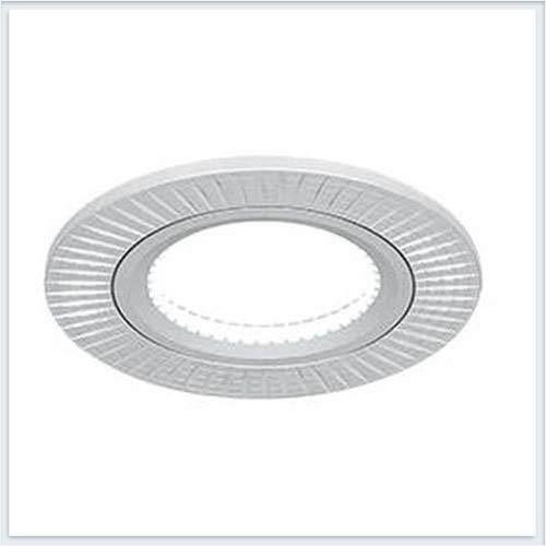 Точечный Светильник для натяжных - подвесных и реечных потолков круглый Gauss Aluminium - AL013