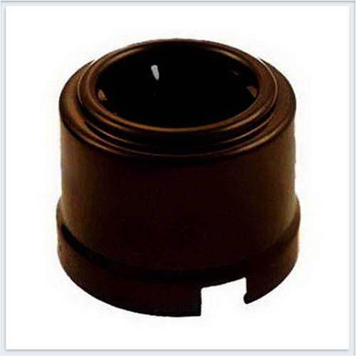 Bironi розетка с заземлением фарфор, цвет коричневый B1-101-02