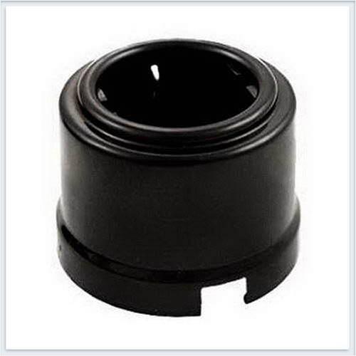 Bironi розетка с заземлением фарфор, цвет черный B1-101-03