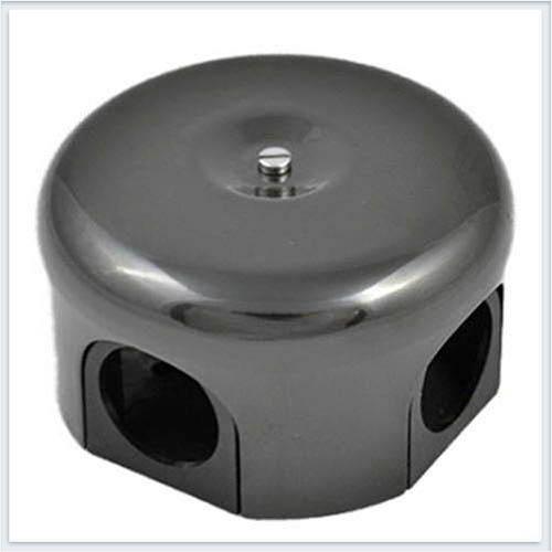 Bironi распределительная коробка, фарфор цвет черный 110мм. B1-522-03